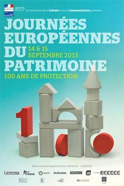 Affiche des Journées Européennes du Patrimoine