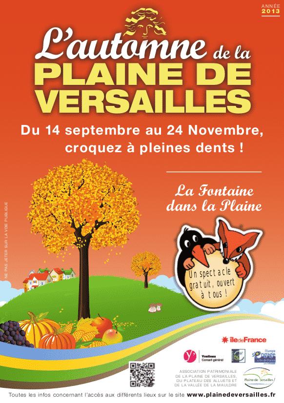 L'automne 2013 de la Plaine de Versailles