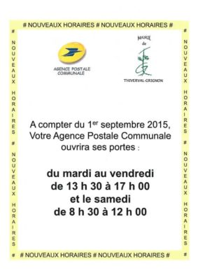 horaires-agence-postale-thiverval-grignon